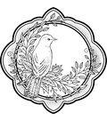 Creative Expressions Stamps To Die For Sue Wilson Stamp-Ella\u0027s Songbird