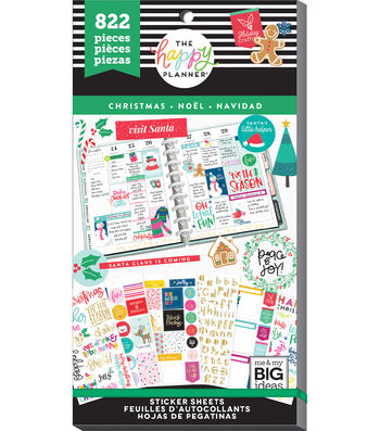 The Happy Planner Value Pack Stickers - Christmas