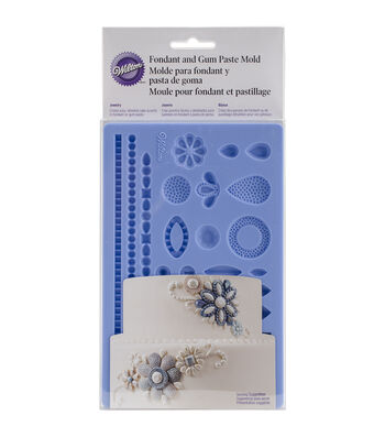 Wilton Jewelry Fondant & Gum Paste Silicone Mold