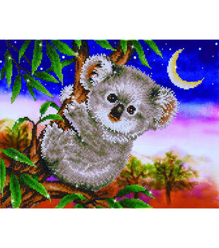 Diamond Dotz Diamond Embroidery Facet Art Kit 22''X17.75''-Koala Snack