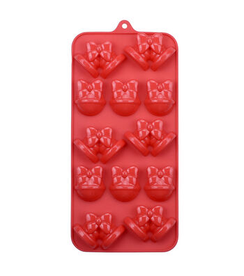 Christmas Holiday 12 Cavity 8.25''x4'' Silicone Candy Mold-Bells