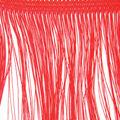 Wrights Fringe Trim 4\u0022W-Red