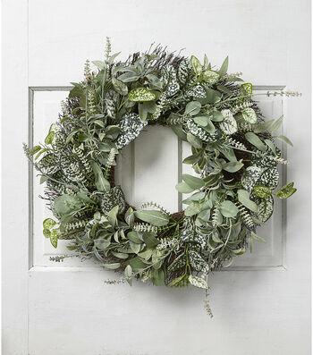 Fresh Picked Spring 22'' All Foliage Wreath