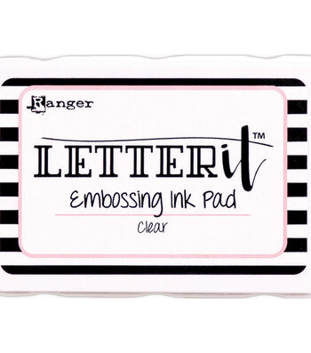 Ranger Letter It Embossing Ink Pad-Clear