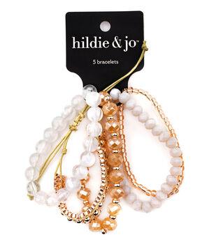 hildie & jo 5 pk Self Tie Bracelets