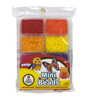 Perler Mini Beads Tray Warm, , hi-res