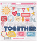 Freckled Fawn 38 pk Chipboard Stickers-Admit One