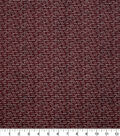 Harvest Cotton Fabric 44\u0022-Thanksgiving Words on Brown