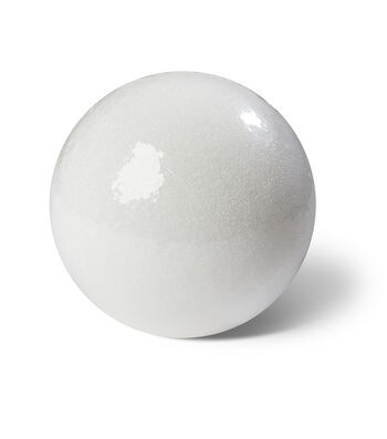 FloraCraft SmoothFoam 9'' Styrofoam Ball-White