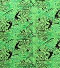 DC Comics Flannel Fabric 42\u0022-Classic Tonal