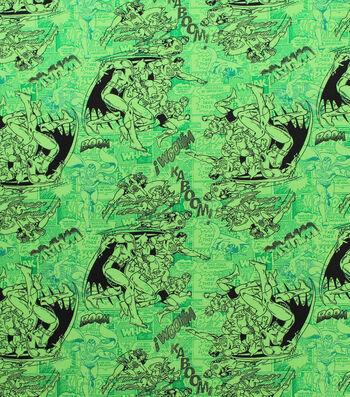 """DC Comics Flannel Fabric 42""""-Classic Tonal"""