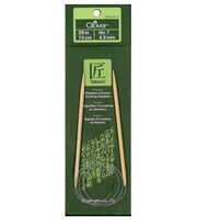 "Clover Bamboo Circular Knitting Needles 29""-Size 7, , hi-res"