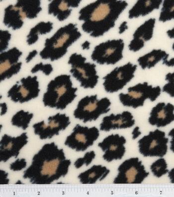 "Anti-Pill Fleece Fabric 59""-Cheetah"