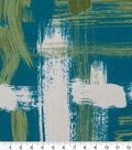 Robert Allen @ Home Print Swatch 55\u0022-Sedge Abstract Turquoise