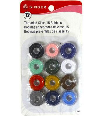 12 Threaded Class 15 Bobbins