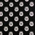Harry Potter Flannel Fabric-Platform 9&3/4 Black