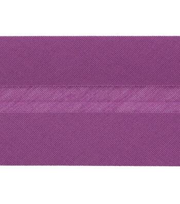 3 yards mini mod flowers bias tape double fold CHOOSE 38 or 12 wide