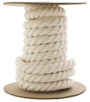 "3/4"" Twist Rope By-the-Yard-Natural"