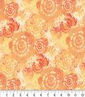 Keepsake Calico Cotton Fabric 44\u0027\u0027-Tangerine Tie Dye