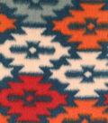 Anti-Pill Fleece Fabric -Warm Wilderness Aztec