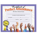 Hayes 180 pk Perfect Attendance Certificates
