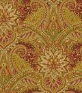 Lightweight Decor Fabric-Waverly Toraja Crimson
