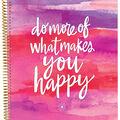 Ultimate Undated Planner Notebook 9\u0022X11\u0022-Clear & White