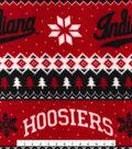 Indiana University Hoosiers Fleece Fabric -Winter