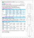Kwik Sew Pattern K4198 Misses\u0027 Swan-Neck Coats-Size XS-S-M-L-XL