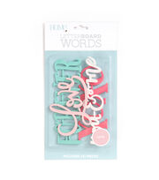DCWV Home 4 Pack Letter Board Words-Love, , hi-res