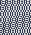 Home Decor 8\u0022x8\u0022 Fabric Swatch-Robert Allen Graphic Fret Ultramarine