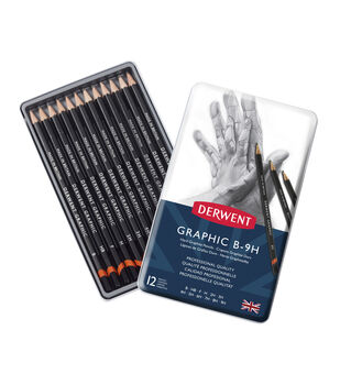 Derwent Technical Graphite Pencil Set 12/Pkg