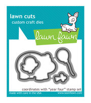 Lawn Fawn Lawn Cuts Custom Craft Die-Year 4, , hi-res