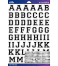 Sticko Black Varisty Alphabet Sticker Large