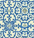HGTV Home Upholstery Fabric 55\u0022-Souvenir Scroll Azure