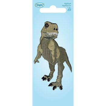 Wrights Iron-On Applique-Dinosaur