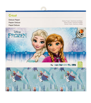 """Disney Frozen 12""""x12"""" Deluxe Paper"""