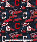 Cleveland Indians Cotton Fabric -Vintage