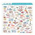 Life Organized 94 pk Micro Stickers-Free Spirit