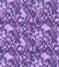 Keepsake Calico Cotton Fabric -Multi Purple Abstract Blender