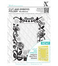 Xcut Cut & Emboss Folder 110mm X 150mm-Floral Frame