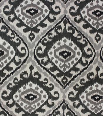 "Richloom Studio Multi-Purpose Decor Fabric 54""-Hayley Charcoal"