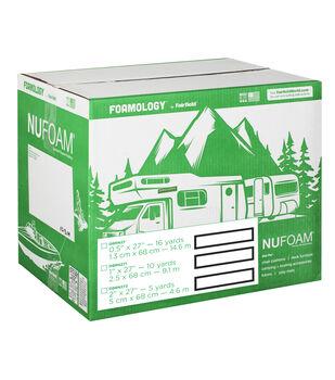 """NuFoam Pad - 27"""" x 10 Yards x 1"""" thick"""
