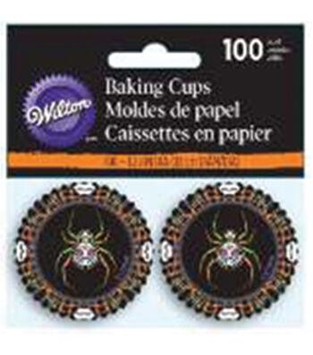 Wilton 100pcs Mini Baking Cups-Deadly Soiree