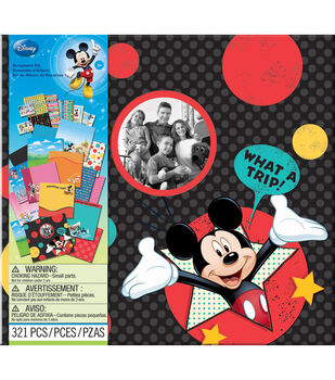 "EK Success Disney Vacation Scrapbook Kit 12""X12""-"