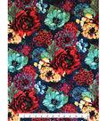 Knit Apparel Fabric 57\u0022-Multi Shana Floral