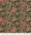 Nebraska Collegiate Realtree Cotton Fabric 42\u0022-Camo & Logo