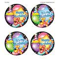Teacher Created Resources Happy Birthday Wear \u0027Em Badges, 32 Per Pack