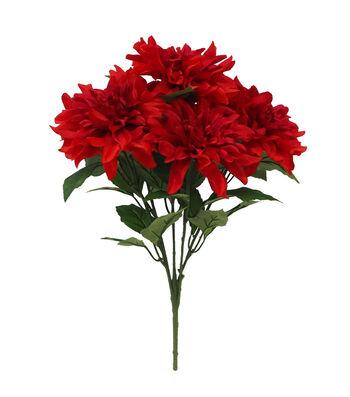Fresh Picked Spring 20.75'' Dahlia Bush-Red