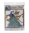 Peacock Counted Cross Stitch Kit-14\u0022X14\u0022 14 Count